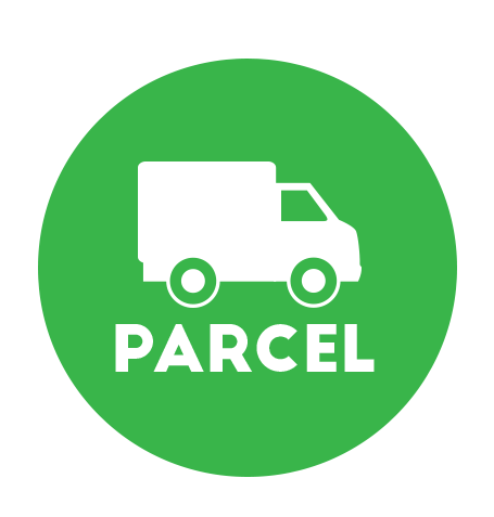 Parcels throuhg Warp TMS