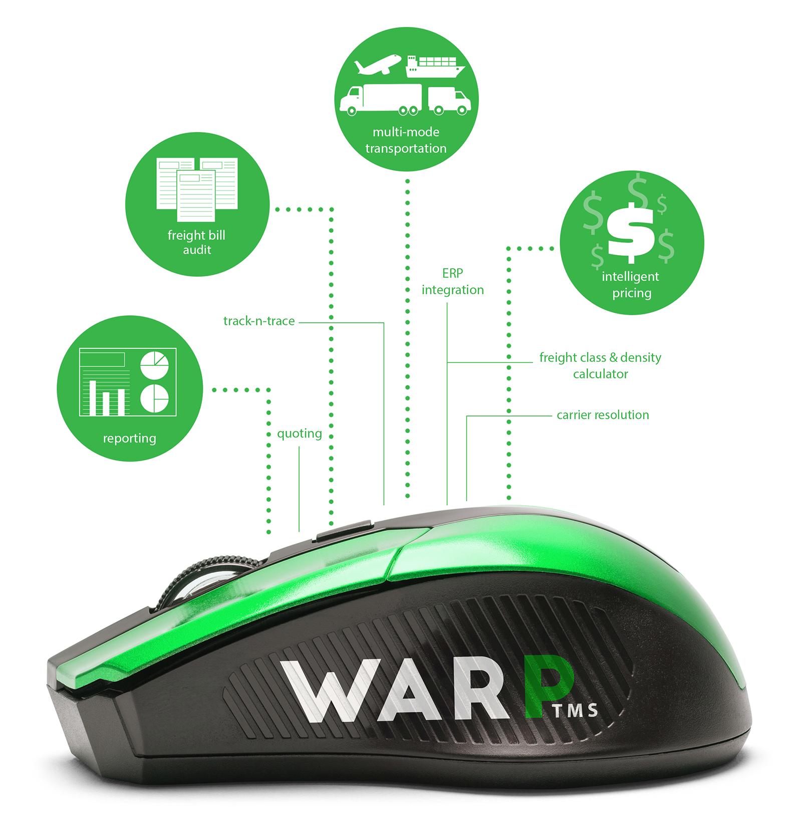 Warp TMS home screen image